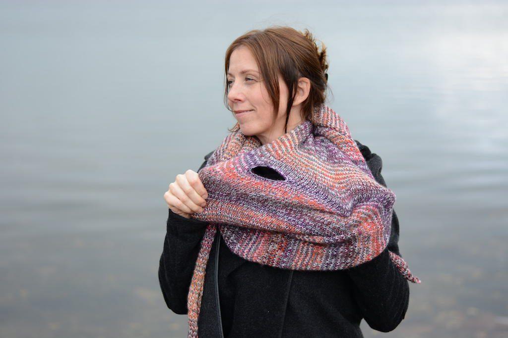 Denna sjalen är stickat med inspiration av min egen  advokatenssjal b5bf296af61ce
